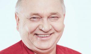 Elder man smiling image