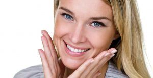 Woman with beautiful smile image