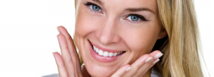 Beautiful woman smiling image